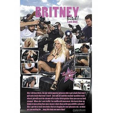 Pipedream Britney Bitch Надувная кукла с тремя отверстиями