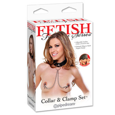 Pipedream Collar and Clamp Set, ������ �� ����� � ���������