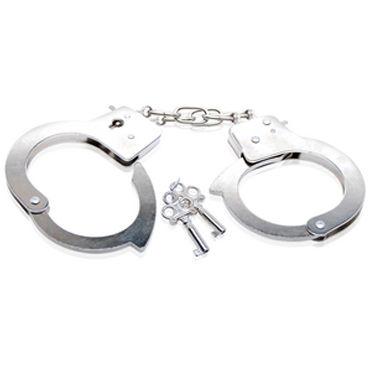 Pipedream Beginners Cuffs Металлические наручники