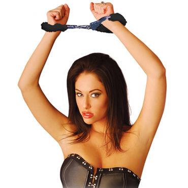 Pipedream Beginners Cuffs черный Наручники с искусственным мехом