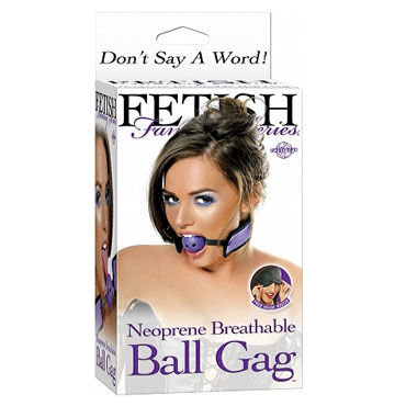 Pipedream Breathable Ball Gag, Кляп на ремешках + маска