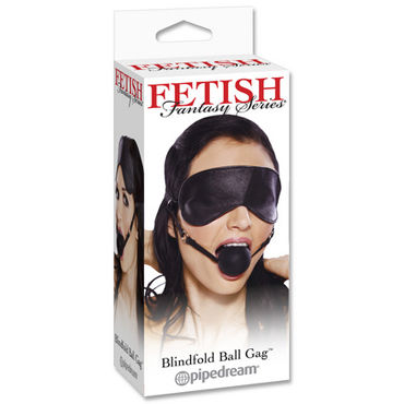 Pipedream Blindfold Ball Gag, ����� � ������
