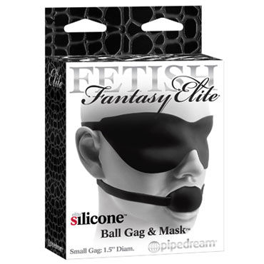 Pipedream Ball Gag And Mask ������, ���� � �����