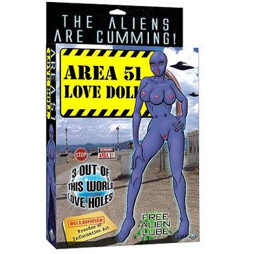 Pipedream Area Doll Сувенир надувная инопланетянка