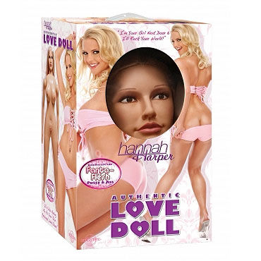 Pipedream Hannan Harper Реалистичная кукла с влагалищем и анусом
