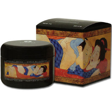 Shunga Soft Moves, 200 мл, Съедобный массажный крем, вишня от condom-shop.ru