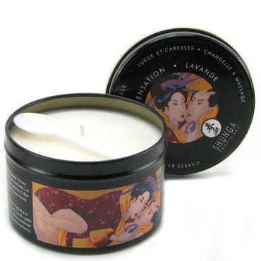 Shunga Massage, 200 мл Ароматическая свеча, лаванда