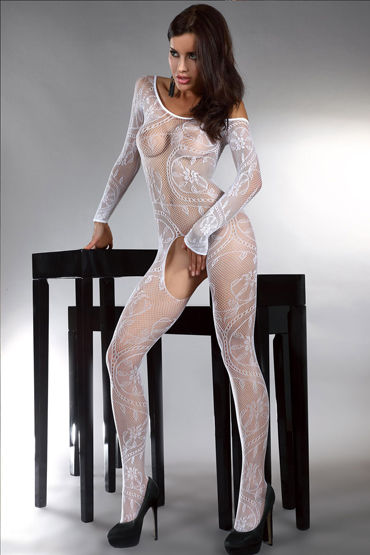 Livia Corsetti Abra, белый Боди-комбинезон