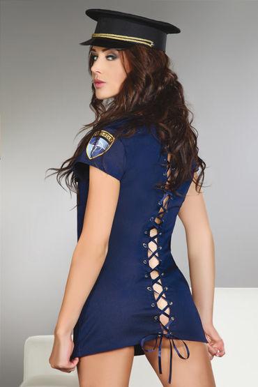 Livia Corsetti Argenta Платье со шнуровкой сзади, турсики и головной убор