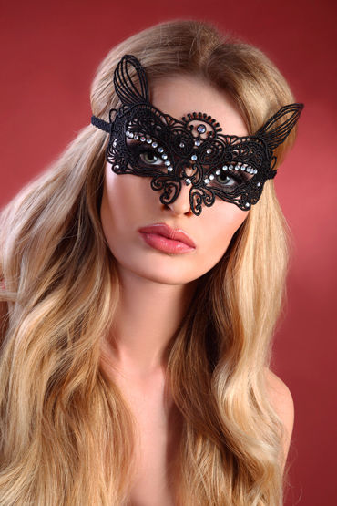 Livia Corsetti Mask Black Model 6 Элегантная маска
