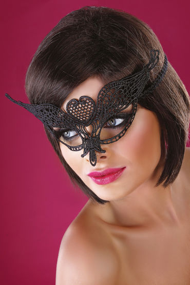 Livia Corsetti Mask Black Model 10 Элегантная маска