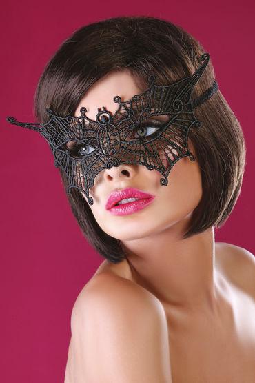 Livia Corsetti Mask Black Model 11 Элегантная маска