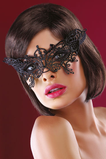 Livia Corsetti Mask Black Model 14 Элегантная маска