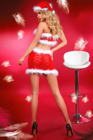 Livia Corsetti Christmas Lust Новогодний комплект топ, юбка и колпак