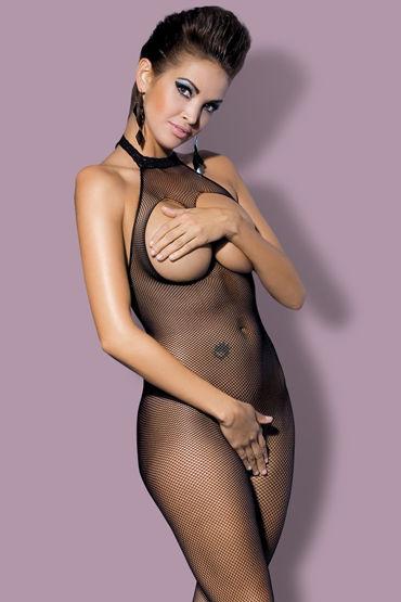 Obsessive Боди-комбинезон, черный С открытой грудью