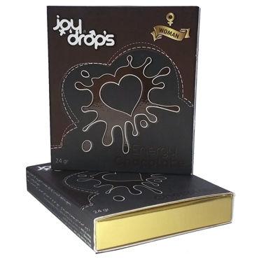 Joy Drops Возбуждающий шоколад, 24гр Для женщин shiatsu гель для ванны и душа с ароматом дикой орхидеи 400 мл