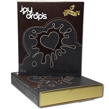 Joy Drops Возбуждающий шоколад, 24гр Для мужчин joydrops deloy 50