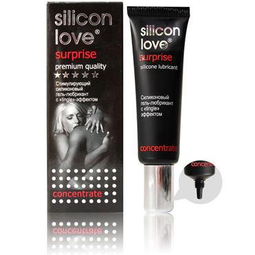 Bioritm Silicon Love Surprise, 30мл Стимулирующий лубрикант с ''tingle''-эффектом you2toys plug cock