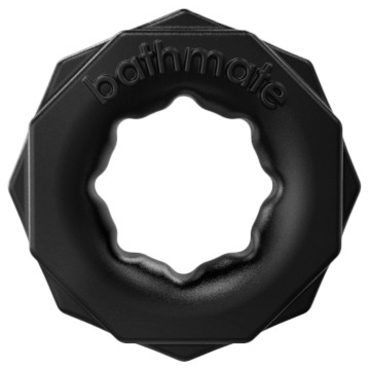 Bathmate Spartan, черное Универсальное эрекционное кольцо тиклер obsessive черный