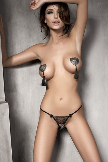 Anais Evita Трусики с разрезом ж шарики цепочки и елочки для мужчин bms factory