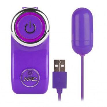 NMC Potent X, фиолетовое Виброяйцо с USB-проводом виброяйцо с пультом управления