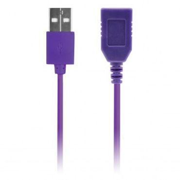 NMC Tension, фиолетовый Удлинитель USB провода дюрекс гель лубрикант play stimulating massage 2в1 200мл