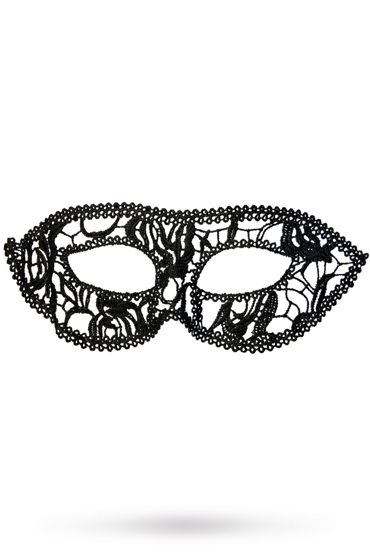 Toyfa Theatre маска Маскарад, черная Маска ажурная из нитей
