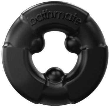 Bathmate Gladiator, черное Эрекционное кольцо для мужчин bathmate hydromax x20 xtreme прозрачный гидропомпа уменьшенного размера с полным комплектом аксессуаров размер s