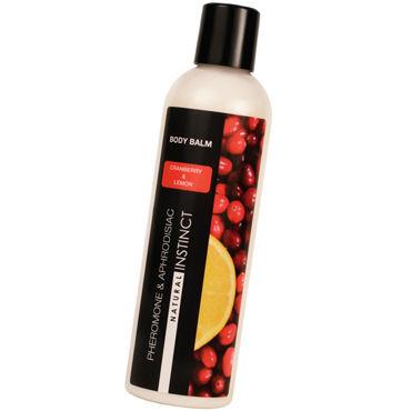 Natural Instinct Body Balm, 250 мл Бальзам для тела с феромонами клюква и лимон bioritm lovespray comfort 18 мл охлаждающий анальный спрей любрикант