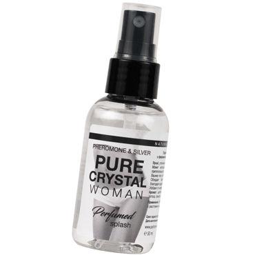 Natural Instinct Pure Cristal Woman, 50 мл Парфюм для нижнего белья с феромонами и ионами серебра 6 leg avenue комплектации
