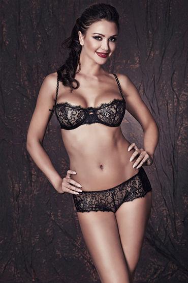 Anais Lulie, черный Комплект из бюстгальтера и трусиков livia corsetti andrea комплект эротического белья