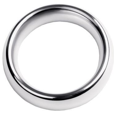 Toyfa Metal Кольцо на пенис 5 см, серебристое Эрекционное из металла wow creative design
