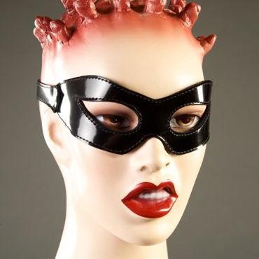 Podium очки, черные Из лакированной кожи podium очки маска красные на кожаной подкладке