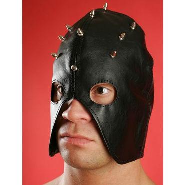Podium полу шлем Декорированный шипами бдсм маски hustler