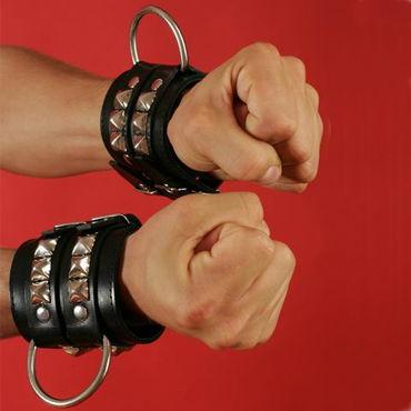 Podium наручники С замшевой подкладкой doc johnson vac u lock ballsysuper 15 см черная реалистичная насадка фаллоимитатор