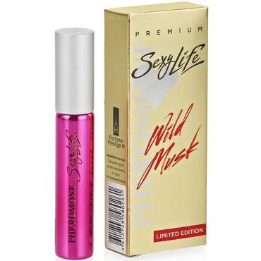 Sexy Life Wild Musk №13 Montale - Roses Musk, 10 мл Женские духи с мускусом и двойным содержанием феромонов montale wild pears