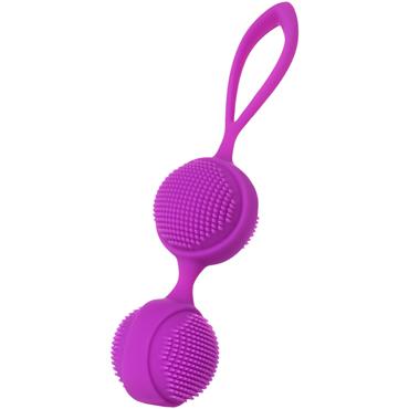 JOS Nuby, фиолетовый Вагинальные шарики с ресничками fun factory smartballs duo голубые вагинальные шарики со смещенным центром тяжести