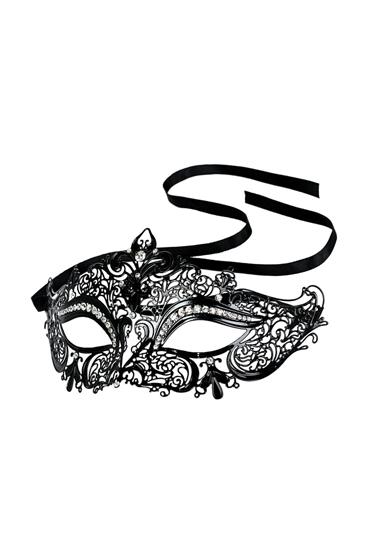 Toyfa Theatre Metal Mask, черная Маска металлическая со стрелками из страз toyfa theatre щекоталка красная с гибкой ручкой