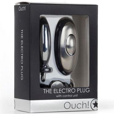 Ouch The Electro Plug Анальная втулка с электростимуляцией ctrc куклы материал abs пластик 4