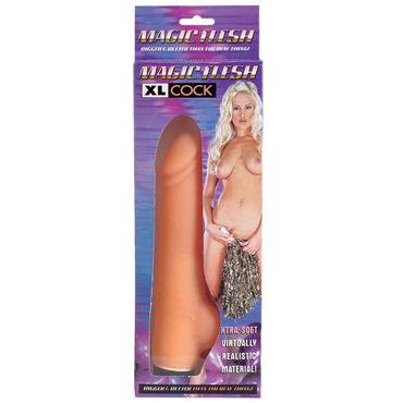 Dream toys Magic Flesh XL Cock Реалистик у hjnbxtcrbt аксессуары детали успеха размер xl
