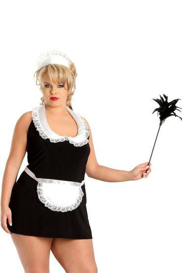 Soft Line Винона Костюм горничной, с чепчиком soft line fifi черный сорочка и ленточки для образа горничной