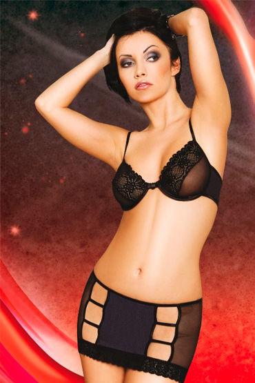 Soft Line бюстгальтер и юбка С вырезами и кружевом soft line горничная юбка топ и украшение на шею