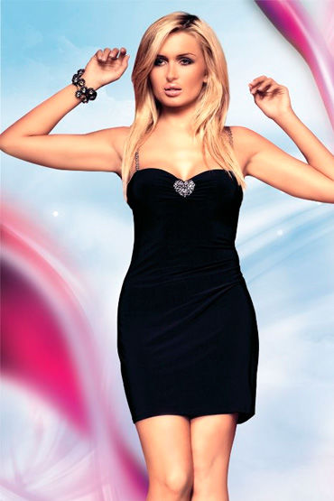 Soft Line платье На бретельках, с сердечком soft line комплект розовый вечер