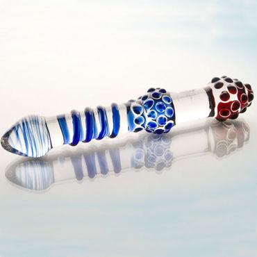 Sexus Glass фаллоимитатор Стильный, выполнен из стекла