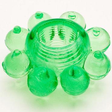Toyfa кольцо, зеленое Гелевое, эрекционное р doc johnson vac u lock 17 смотреть