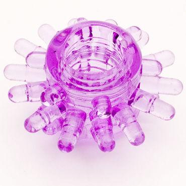 Toyfa кольцо, фиолетовое Гелевое, эрекционное ф toyfa кольцо зеленое