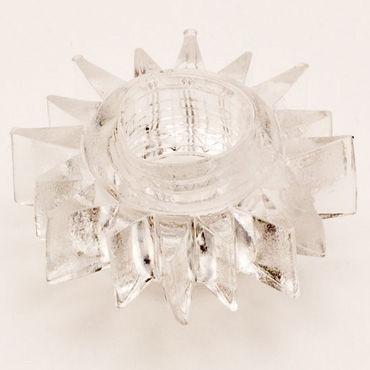 Toyfa кольцо, прозрачное Гелевое, эрекционное california exotic dual support magnum ring для пениса и яичек