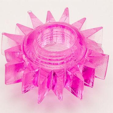Toyfa кольцо, розовое Гелевое, эрекционное toyfa кольцо прозрачное гелевое эрекционное