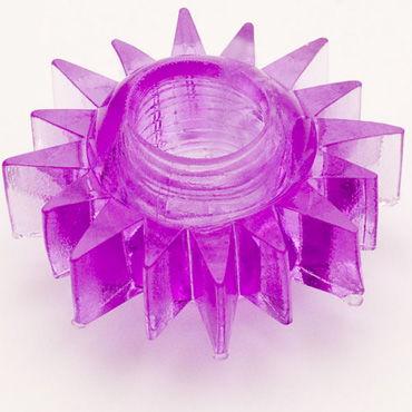 Toyfa кольцо, фиолетовое Гелевое, эрекционное toyfa кольцо прозрачное гелевое эрекционное