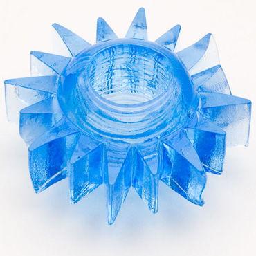 Toyfa кольцо, синее Гелевое, эрекционное toyfa кольцо прозрачное гелевое эрекционное